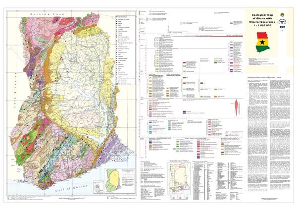 Mapa Ghany